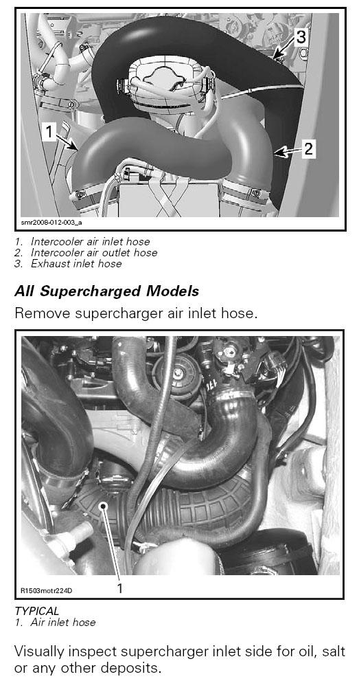 Supercharger Repair Service for Sea Doo 4 Stroke PWC