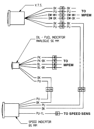 on oil gauge wiring schematic