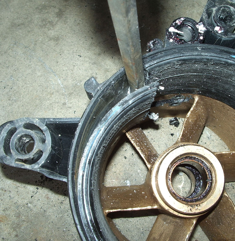 Procedure for Removing Sea Doo Wear Rings