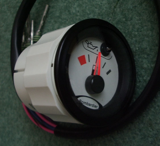new sea doo parts for electrical components gauge oil fuel discontinued