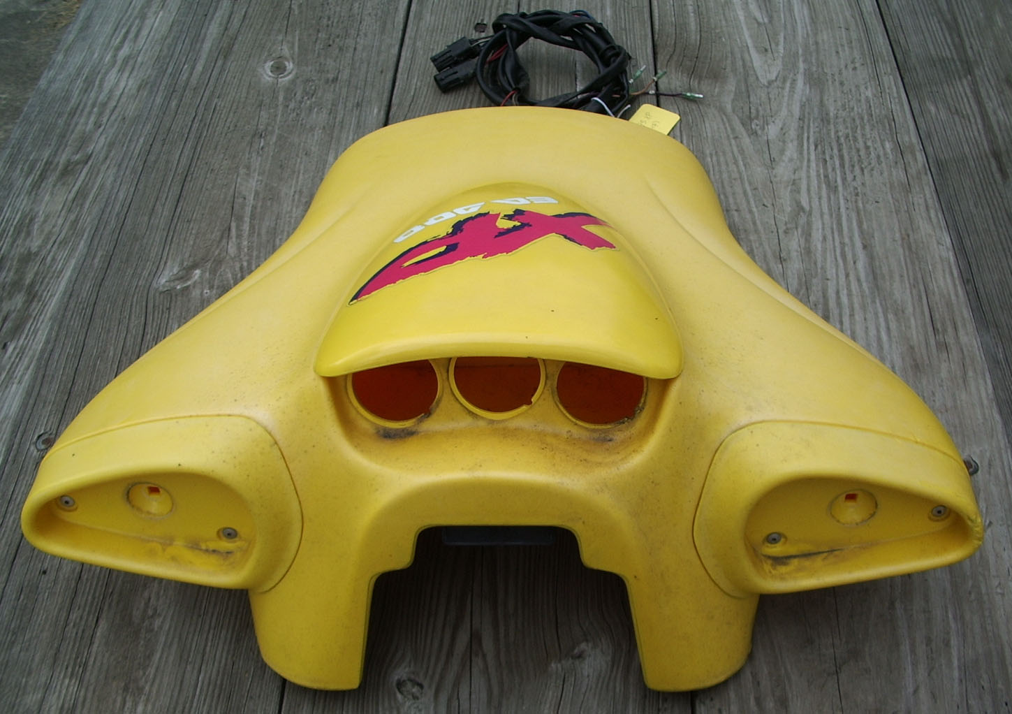 used sea doo parts for 1995 1996 xp yellow off 1995 xp